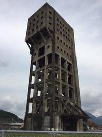 竪坑櫓(たてこうやぐら)