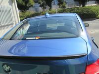 BMWへのフィルム施工 IRプレミアムスモーク 10%