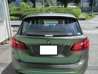 BMW2アクティブツアラー 断熱フィルムシリーズ IRグリーン35