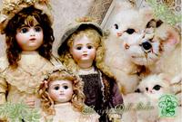 人形の社交界 Antique Doll Salon 7/12(火)~17(日)
