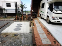 DIY-玄関アプローチの制作