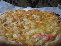子供と作る簡単ピザ