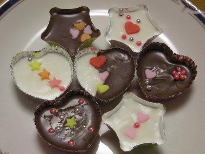 バレンタインデー 手作りチョコレート