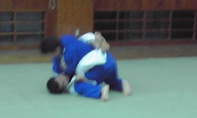 柔術に挑戦