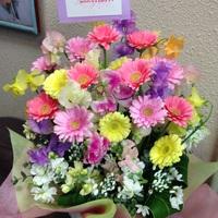 お祝いの花達