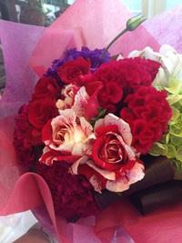 花束お贈りします。
