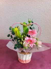 花を咲かせるお誕生日