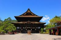 初夏の善光寺
