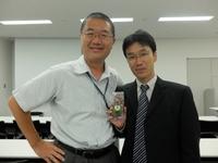 帯広畜産大学の平田先生。