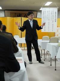 竹川克幸先生。