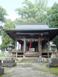 森山の阿蘇神社に参拝。