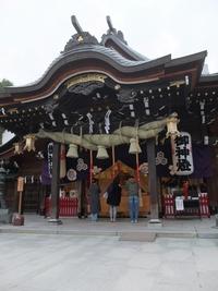 飲む前に櫛田神社にお参り。 2017/12/30 17:00:00