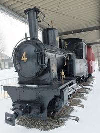 十勝鉄道の蒸気機関車4号