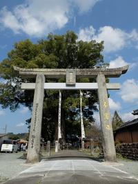 津江神社の牛換え祭