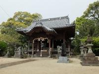 小城公園の岡山神社に参拝。