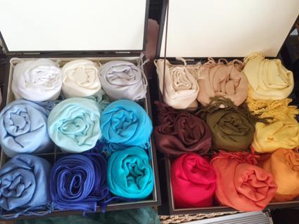 color drape