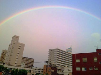 鹿児島虹画像