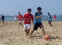 ふくつビーチサッカーフェスティバル 2009