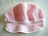 ベビーピンクのキャスケット