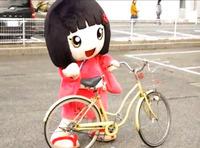 千梅ちゃん自転車に乗る!?
