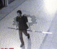 槍を持った不審な男、福岡県飯塚市にあらわる
