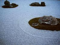 龍安寺で日本庭園を学ぶ