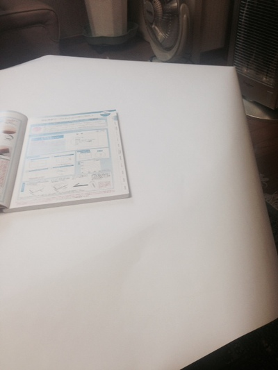 テーブル型紙