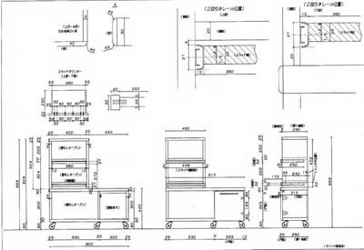 家具作成図面