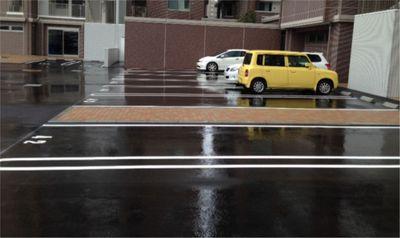 マンション駐車場