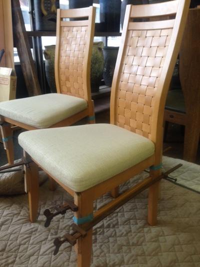 食卓椅子修理