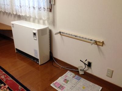 蓄熱式電気暖房器