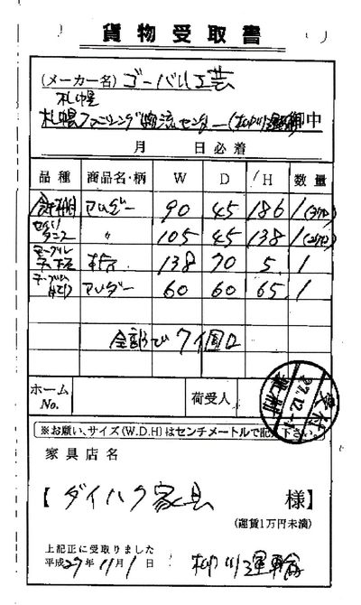 北海道チャーター便
