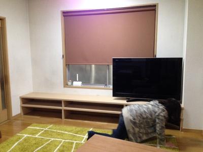 テレビボード製作