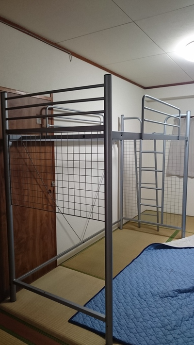 ロフト式ベッド