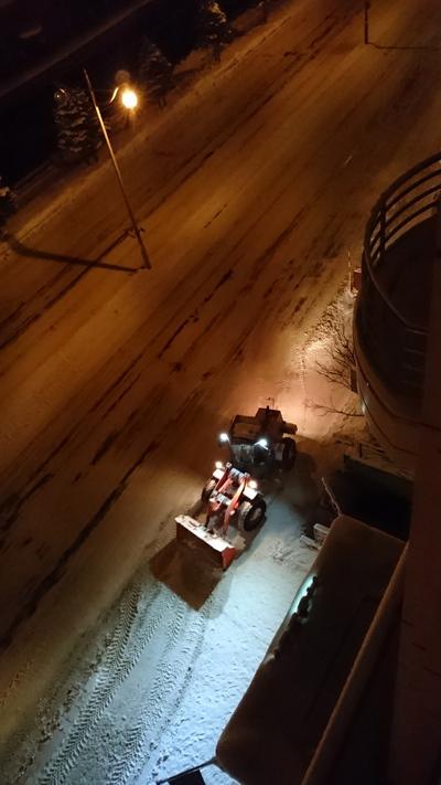 除雪作業車