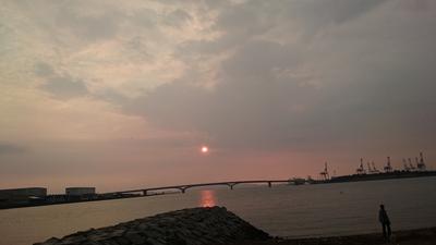 名島海岸線