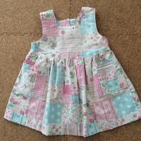 かわいいジャンパースカートを作った♪