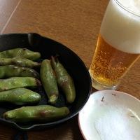 ソラマメとビール♪
