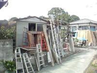 さびしい解体工事