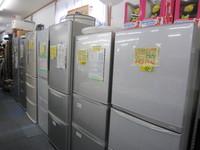大型冷蔵庫揃っていますよ