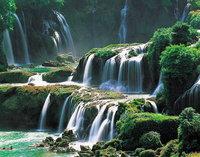 有名な滝絵が觸れます