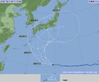 台風6号接近早まる