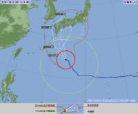台風6号非常に強い勢力で九州に接近