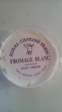 山羊乳の生チーズ