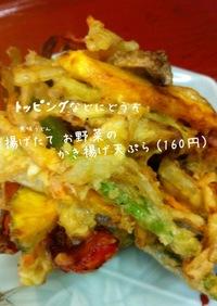 お野菜のかき揚げ