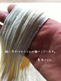 うどんの麺