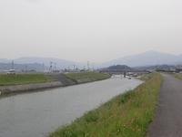 嘉麻市 八反田川のぼりレース
