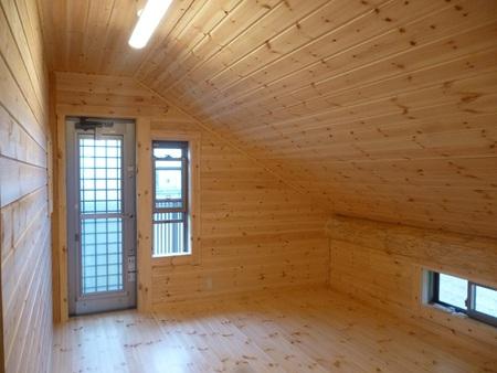 佐賀県にP&Bログハウスが完成しました
