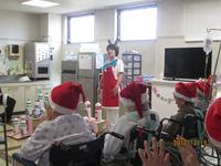 病棟クリスマス会を行いました♪