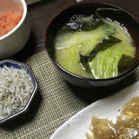 元カレ食堂 白菜の味噌汁